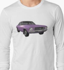 Holden HQ Kingswood - Purple Long Sleeve T-Shirt