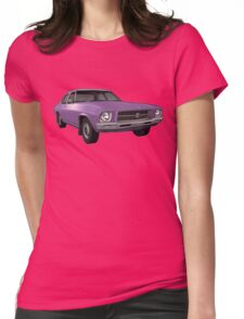 Holden HQ Kingswood - Purple Womens Fitted T-Shirt