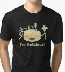 Pancakes are delicious! Tri-blend T-Shirt