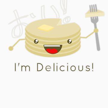 Pancakes are delicious! by RobTalada