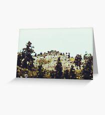 Alpine Meadows #1 Greeting Card