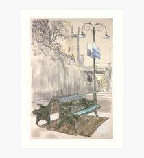 Leura Station Art Print