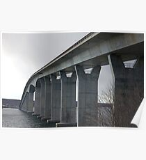 Jamestown Bridge Poster