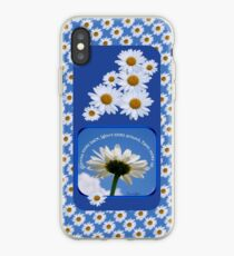 Faith Looks Up ~ Daisies! iPhone Case