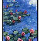 Water Lilies-Impressionism by dvampyrelestat