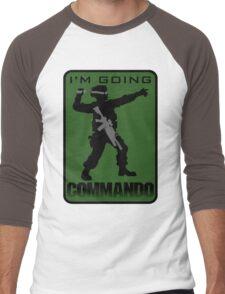 Going Commando Men's Baseball ¾ T-Shirt