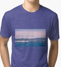 Running Through The Chop Tri-blend T-Shirt