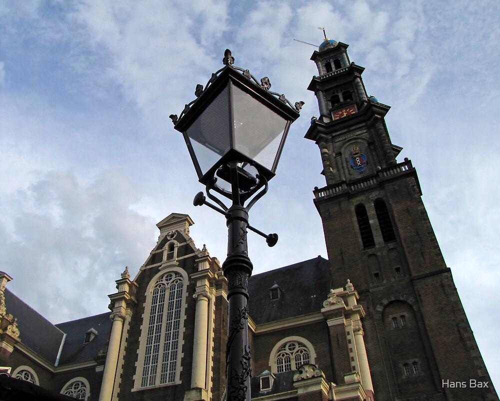Westerkerk Amsterdam by Hans Bax