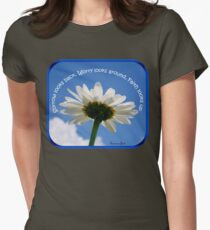 Faith Looks Up ~ Dance! Women's Fitted T-Shirt