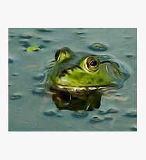Bullfrog Oil Photographic Print