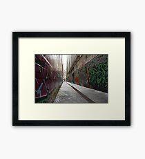 Alleyway Framed Print