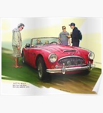 British Austin Healey: Posters | Redbubble