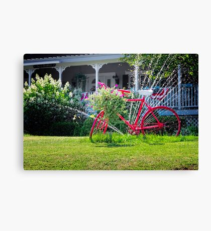 Smithereens- A Word that was Created After Someone Invented the Bicycle Canvas Print