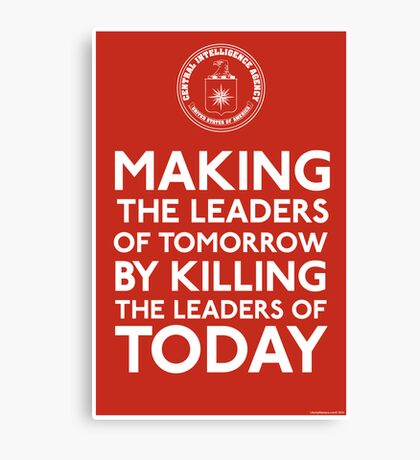 C.I.A. Making The Leaders of Tomorrow Canvas Print