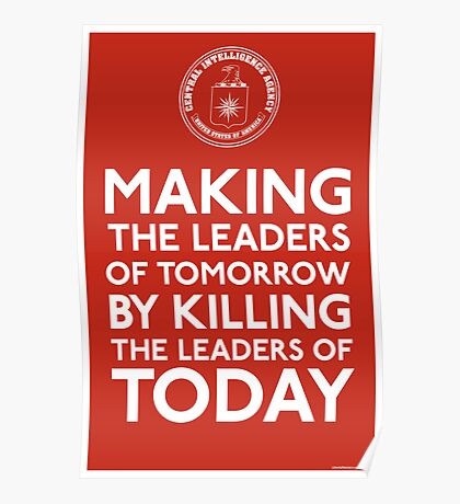 C.I.A. Making The Leaders of Tomorrow Poster