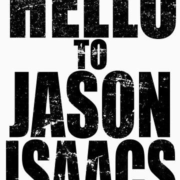 Hello to Jason Isaacs. by theJackanape