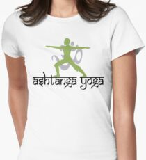 Ashtanga Yoga T-Shirt Womens Fitted T-Shirt