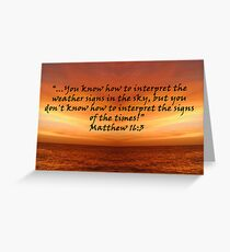 """""""2 Timothy 1:6""""  by Carter L. Shepard Greeting Card"""