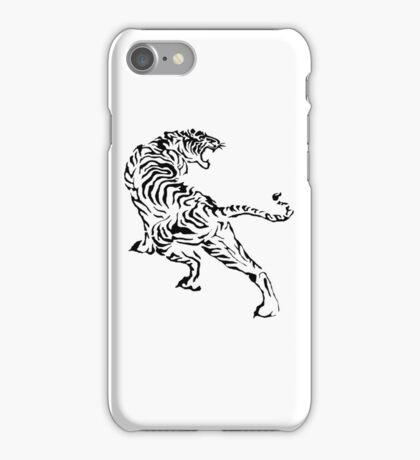 Tiger - Black iPhone Case/Skin