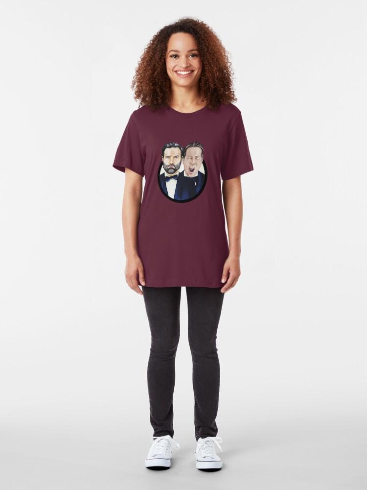 Alternate view of Adam and Joe Slim Fit T-Shirt