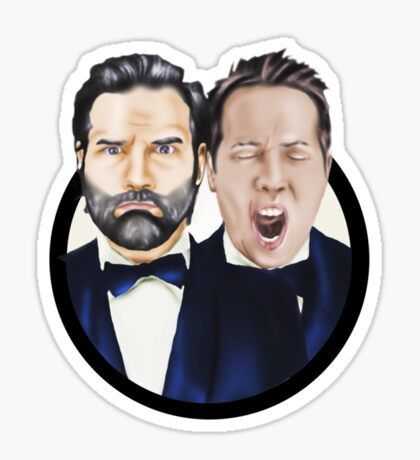 Adam and Joe Sticker