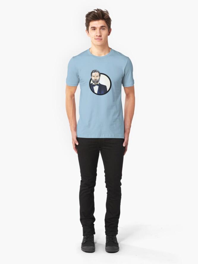 Alternate view of Adam Buxton Slim Fit T-Shirt