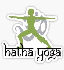 Hatha Yoga T-Shirt Sticker
