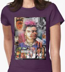 frida kahlo Women's Fitted T-Shirt
