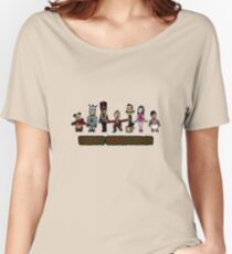 Stop Motion Christmas - Style A Women's Relaxed Fit T-Shirt