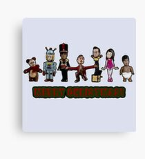 Stop Motion Christmas - Style A Canvas Print