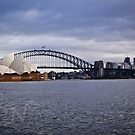 Sydney Harbor 2 by Adam Northam