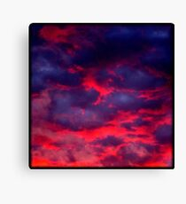 Calypso Sunset (available in iphone & ipod cases) Canvas Print