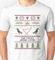 The (Holiday) Trees Speak Latin T-Shirt