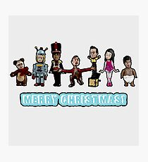 Stop Motion Christmas - Style B Photographic Print