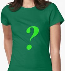 Riddler Womens Fitted T-Shirt