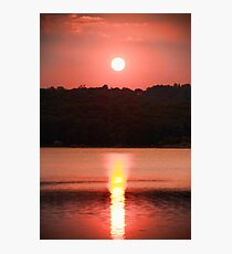 Ripples Of A Sunset Photographic Print