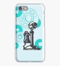 Turquoise Vintage Telephone iPhone Case/Skin