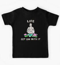Funny Om T-Shirt Kids Clothes