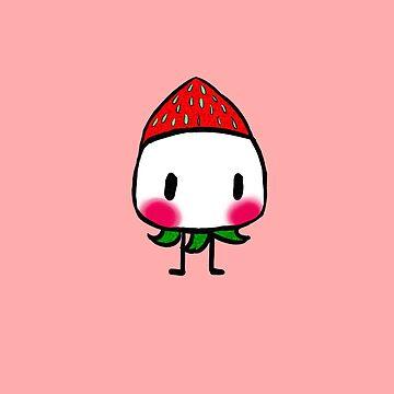 Chibi Strawberry Frupa by SinisterFoxx