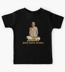 Funny Buddha Quote T-Shirt Kids Clothes