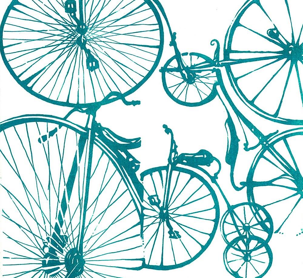 Aqua Bikes by Stacy Stranzl