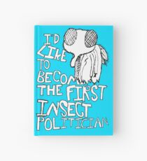 Insect Politician. (The Fly) Hardcover Journal
