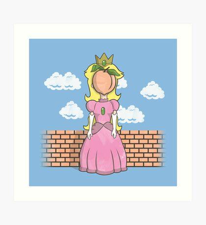 The Princess of Peach Art Print