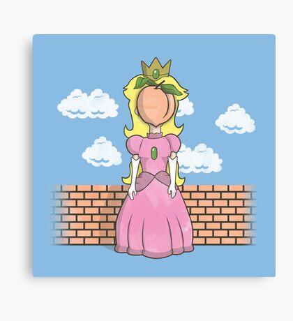 The Princess of Peach Canvas Print