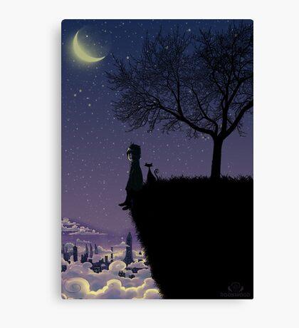 Captain Moonlight Canvas Print