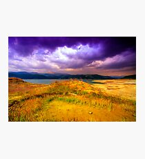 Painted Storm Photographic Print