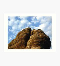 Millstone Grit - Brimham Rocks Art Print