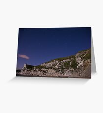 Starry night at Durdle Door Greeting Card