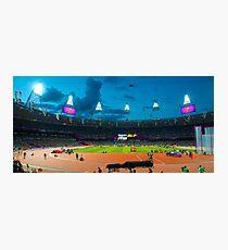 OLYMPIC STADIUM BY NIGHT Photographic Print