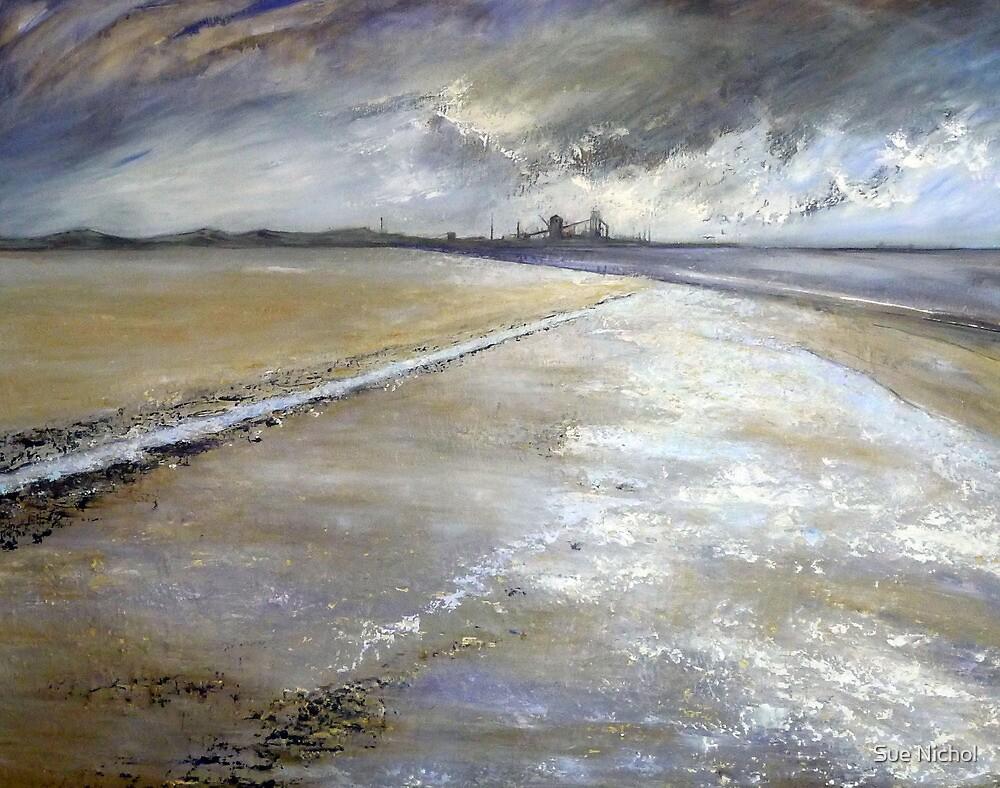 Redcar Beach by Sue Nichol